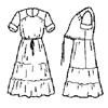 """Graceful"" Dress-"