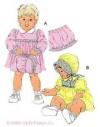 Infant Dresses, Bloomers and Bonnet-