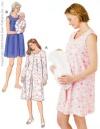 Misses' Nursing Gown-