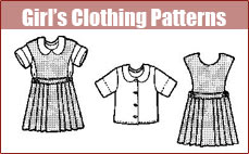 Girl's Clothing Patterns
